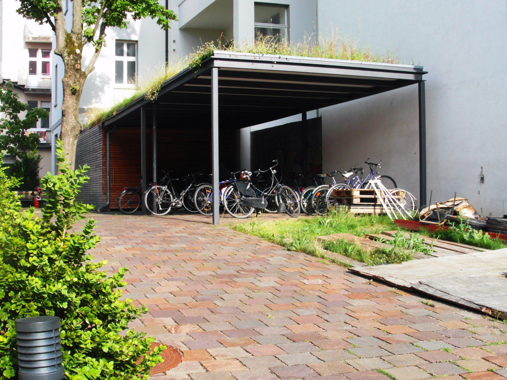 ¿Cómo es posible que haya aparcamientos de solo bicicletas?