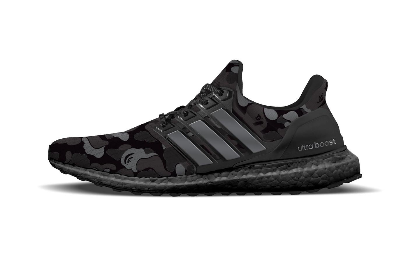 c27310ab380a BAPE y Adidas sacarán las ultraBOOST con CAMUFLAJE