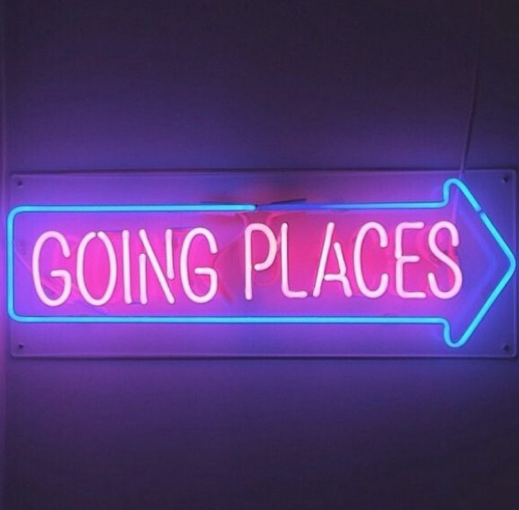 going-places-neon-wag1mag Vía Pinterest