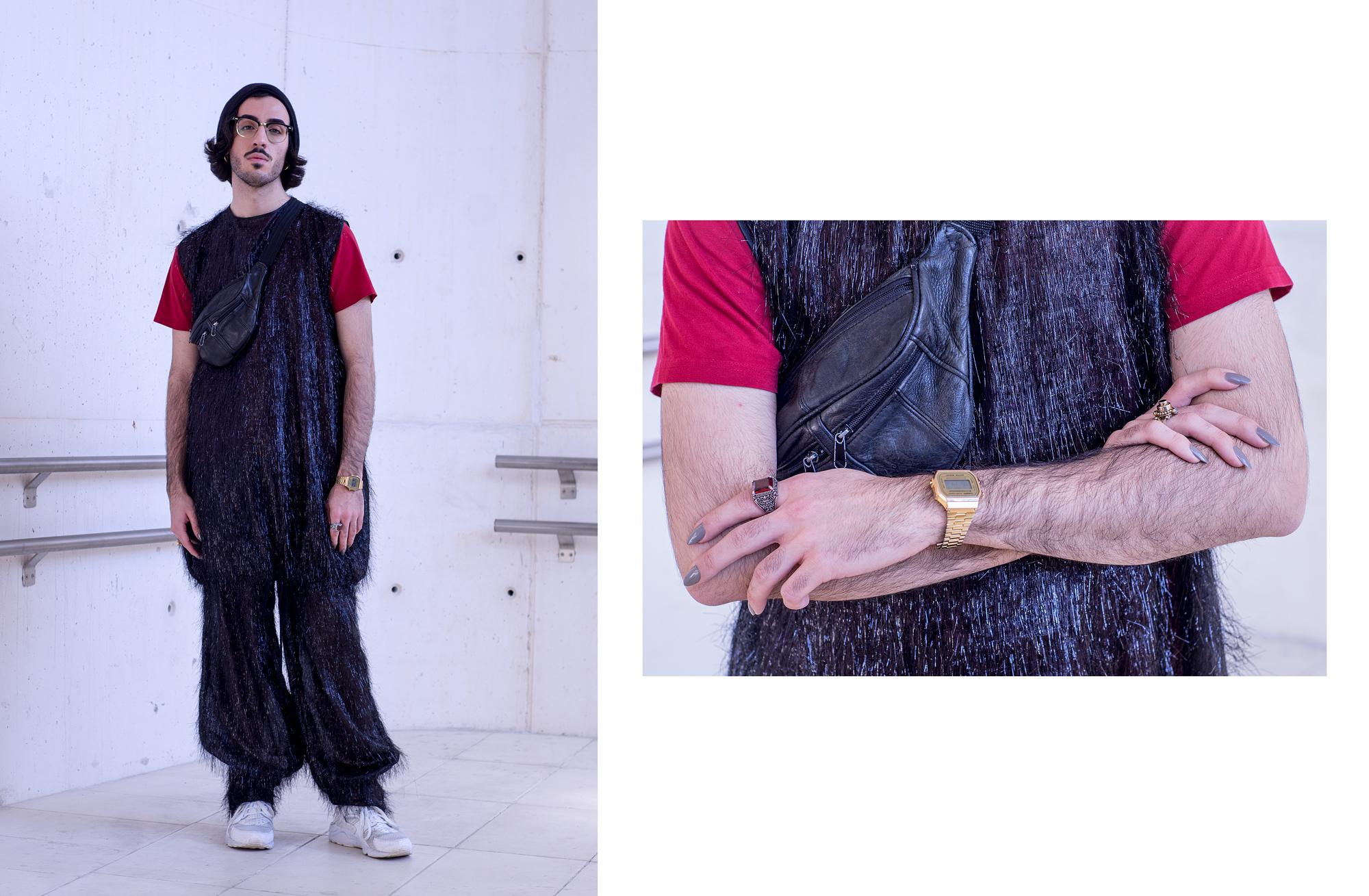 Guillermo, Diseñador de Moda, @guillermodiez1912 : Look Anel Yaos