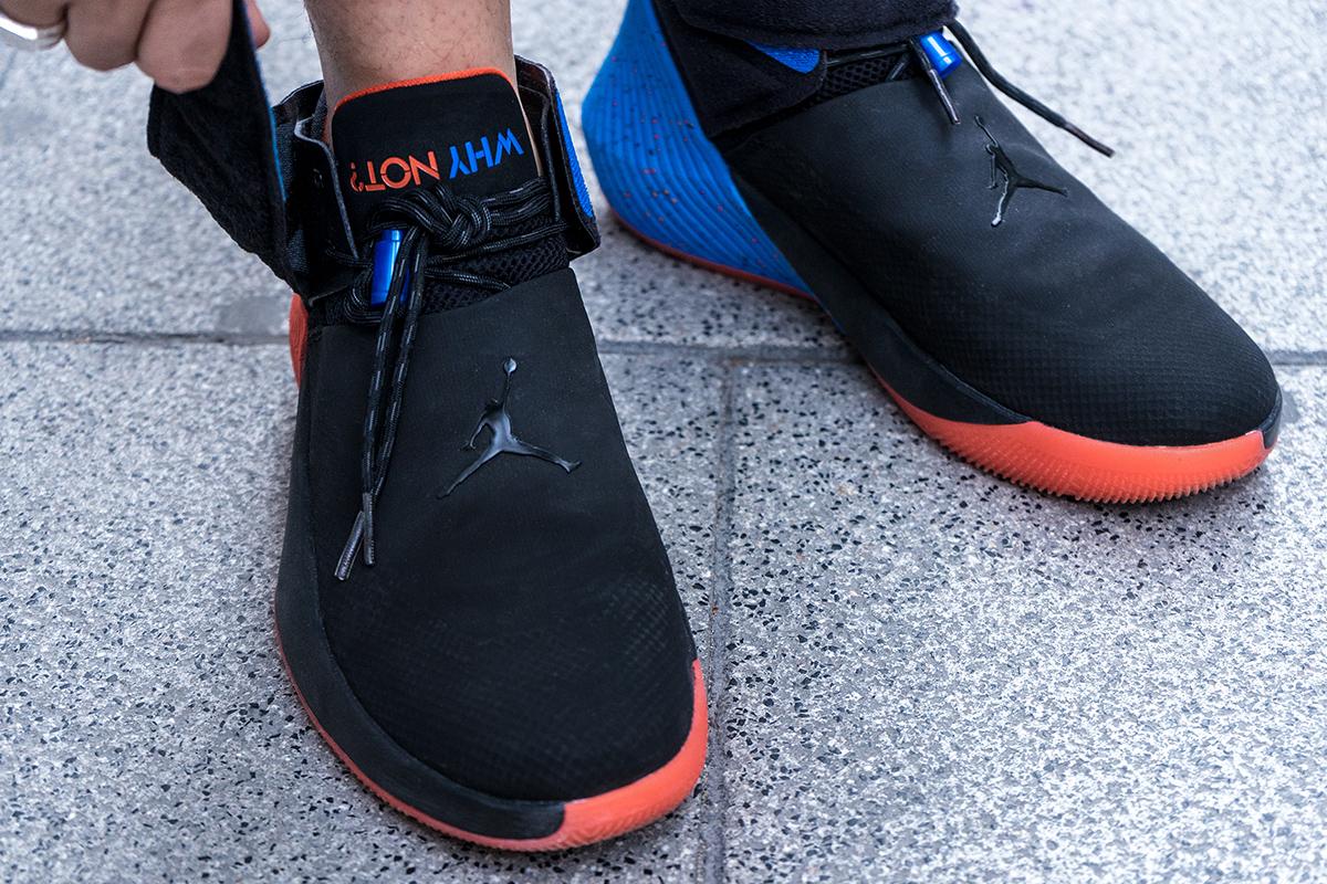 2fa425874f9a Como parte de la extensión del contrato de 10 años de Russell Westbrook con  Jordan Brand incluiría su propio zapato en la cancha.