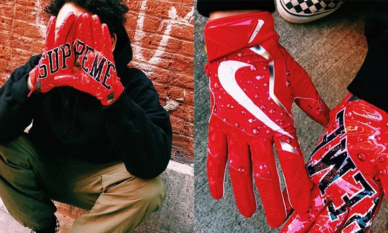 Supreme x Nike ⚡️ los GUANTES de FÚTBOL