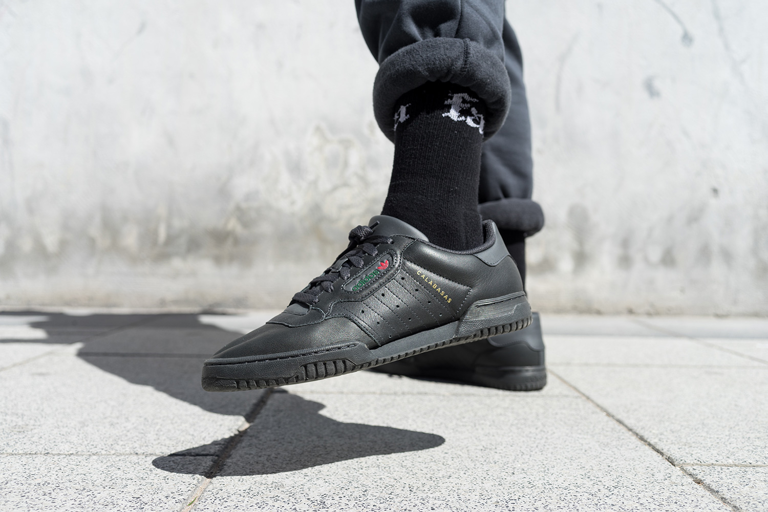 284db41a12375 YEEZY POWERPHASE CORE BLACK - CALABASAS 👑  weeklySNEAKERS 👑 – WAG1  MAGAZINE